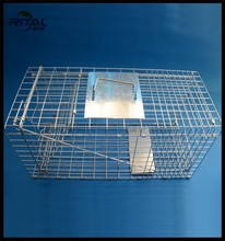 animal trap steel for live animal traps