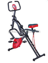 Multi-function exercise bike to build up muscular strength power
