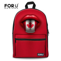 Canada Youth Magic Star Red Backpack