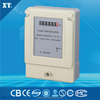 Intelligent single phase power energy meter with ct