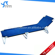 Outdoor steel portable folding bed