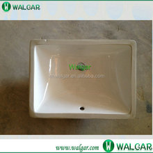 2015 the best selling undermount rectangular ceramic sink with cUPC certificate for US&Canada Market,factory wholesale price