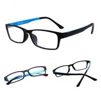 OEM Trendy Simple Plastic Frame Xray Optical Glasses for Reading