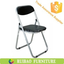 High Quality Conference Chair, Portable Plastic Folding Camping Chair(hdpe,blow mould,black)