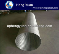 wedge wire stainless steel sand strainer