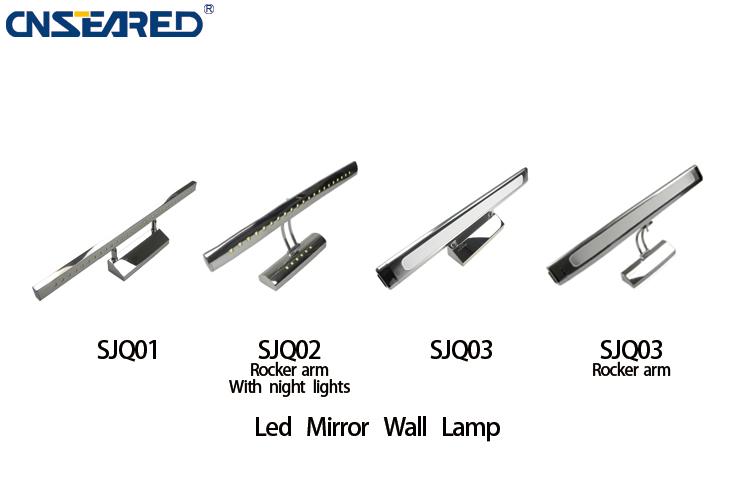 Salle de bains led mur lampe 5 w lampes de miroir de led for Application miroir pc