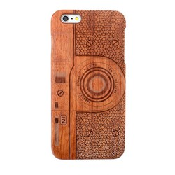 Wood Case for iPhone 6 Plus,Natural Wood Hard Cover Case for iPhone6 Plus