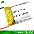 小さな5017233.7v120mahの高レートliポリマーリチウム電池のためのミニty901rcヘリコプター