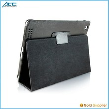 New design ultra-thin leather case with holster belt for ipad 2/3/4