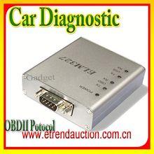 Newest promotion obdii elm327 OBD/OBDII Scanner Fault Code Reader Car Diagnostic Interface Scan Tool ELM327 COM port