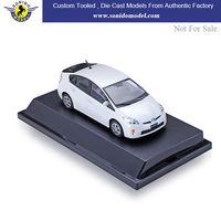 custom made 1:43 diecast model cars,diecast metal toy car toyota prius