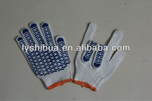 safety gloves with palm dots