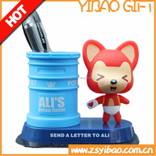 Eco-friendly Cute Kids Silicone Pen/Pencil Container/Holder