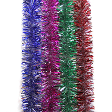 Hot Sale New Design PVC/PET Christmas Tinsel Garland for Decorative Party/Holiday/Christmas