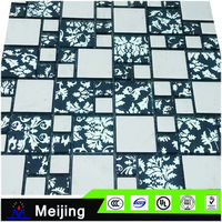 Meeting room decoration carved mother of pearl shell for 3D wall panels