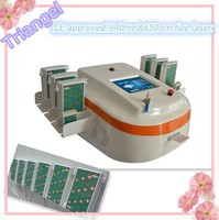 2015 i lipo laser fat burning machine with 650nm&940nm dual wavelengths for sale
