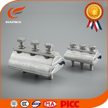 Professional foundry forged casting overhead power line fitting copper aluminium parallel groove clamp