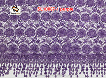 2014 african guipure lace fabric for wedding dress
