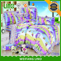 2014 latest China supply bed sheets in dubai uae