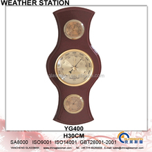 Newest Wooden Weather Station Barometer Decor YG400