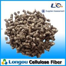 Concrete additive cellulose fiber for asphalt pavement