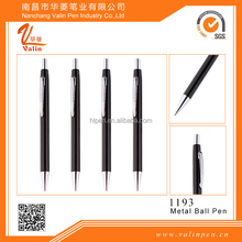 2016 Short Metal Ball Pen with Logo For Advertising