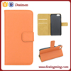 Classic leather cellphone case for iphone 6 leather case , for iphone 6 case leather with business card holder