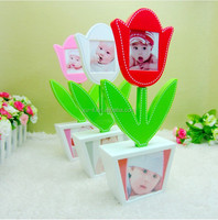 Creative Flower Shape Photo Picture Frame With coin bank