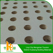 sound insulation,water /fire proof perforated gypsum ceiling board
