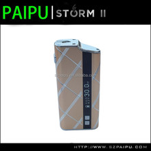 100% original newest e cig 2200mah ecig storm 30w box mod with Gravity sensing system e cig