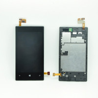Factory low price for nokia lumia 520 panel with frame