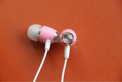 Low Price Fashion Bass Good Quality Earphone -Pink