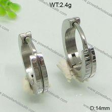 Stainless Steel Jewelry For Girls Stock New Designbasket ball wives hoop earrings