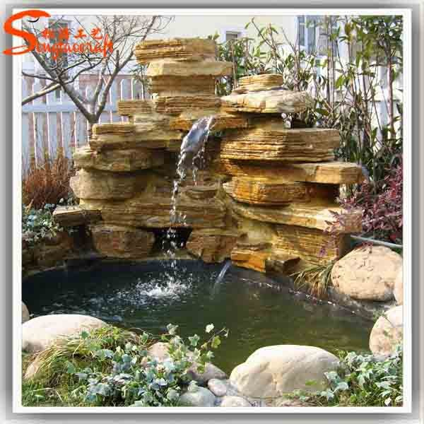 24 simple glass water fountains outdoor for Ornamental garden features