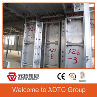 aluminum building materials/lightweight aluminium formwork/ALUMINIUM FORMWORK FOR temporary building materials