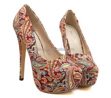 Silks & satins Women Ladies High Heel Shoes Stiletto Shoes