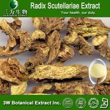 3W Supply Radix Scutellariae Extract,Radix Scutellariae Extract powder ,Radix Scutellariae standarized extract Baicalin 20%-95%