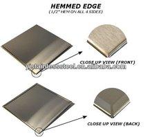 Prime Material Custom Brushed Finish 304 Stainless Steel Backsplashes Price Per Kg