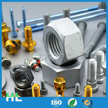 China manufacturer high quality din985 white zinc plated nylon lock nuts