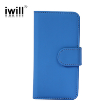 Bulk buy ebay Wallet Card PU Leather Flip smart phone Case Cover for iPhone 4 & 4S,iphone 5 / 5s