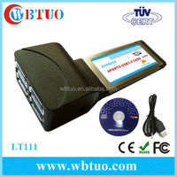 PCMCIA to USB3.0 4port CardBus usb hub adapter