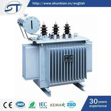 Alibaba China 3 Phase Electrical Equipment 500Kw Oil Immersed Transformer