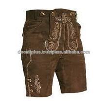 Pantalones de cuero, trachten o pantalones de cuero bávaro, pantalones cortos pantalones de cuero