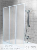 Bathtub Shower Screen, Swing Door, mordern UK market design(XQL1208C)