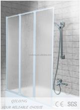 Bathtub Shower Screen, Swing Door, mordern UK market design(XQL1208C)