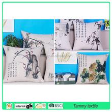 top sale velvet decorative sofa/hotel/car throw pillow handmade fireproof embroidery cushion cover