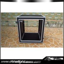 19 inch Deepth 12U shockmount audio amplifier case
