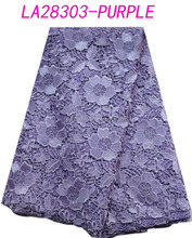 2014 Newest fashion cotton chemical lace for summer dress