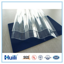 Clear corrugated plastic greenhouse panel/sheet