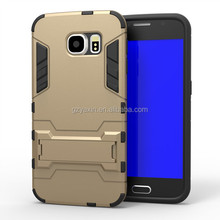 2 in 1 combo mobile phone case for galaxy s6 for samsung galaxy s6 cell phone case